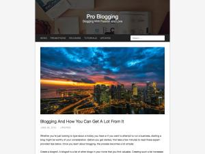Antlia WordPress Theme