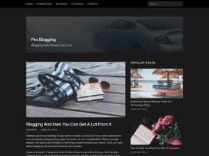 Cancer WordPress Theme