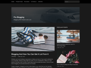 Cancer WordPress Theme